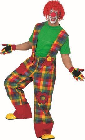 Bunte Clownhose für Clownkostüm
