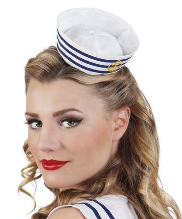Haarreif Navy Matrosen Mütze
