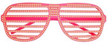 Gitterbrille/ Atzenbrille für Partys und Karneval – Bild 3