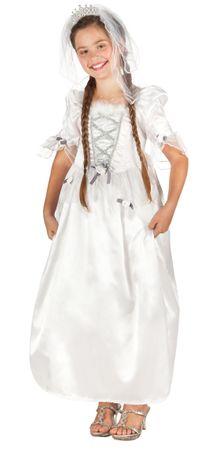 Kinderkostüm Braut – Bild 1