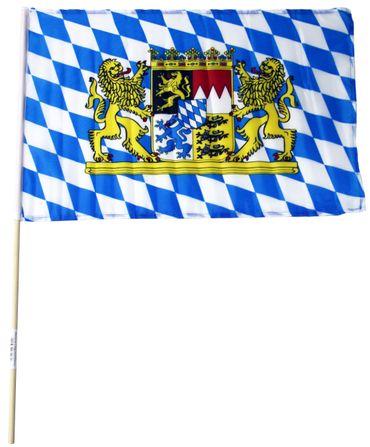 Bayern / Oktoberfest-Fahne 15x23cm