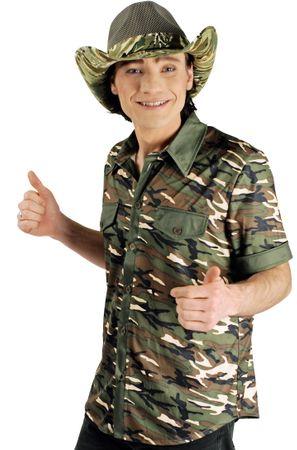 Camouflage-Hemd / Military-Shirt