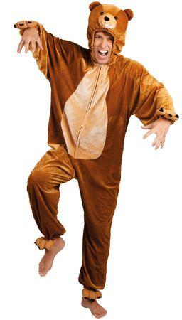 Plüsch-Kostüm-Bär – Bild 3