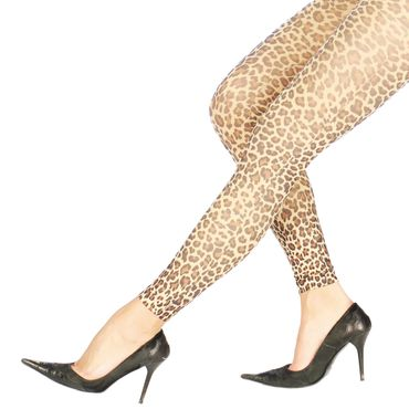 Leoparden-Leggings für Leopardenkostüm