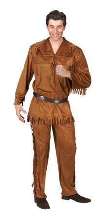 "Trapper-Anzug ""Bullyparade-Kostüm Ranger"" 3-tlg"