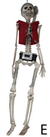 Piraten-Skelett / Geister-Pirat – Bild 4