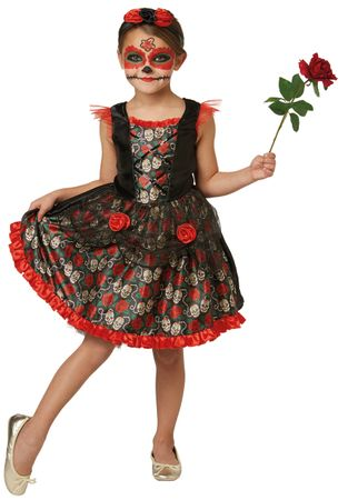 Day of the Dead Kleid / Los Muertos Kleid – Bild 1