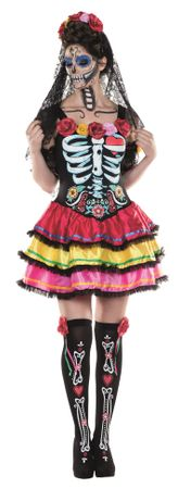 "Day of the Dead Kleid ""SENIORA"" / Los Muertos Klei…St"