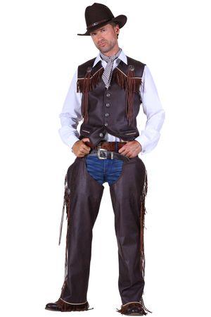 Cowboy-Weste / Cowboy-Kostüm – Bild 1