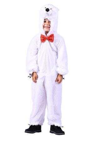 Eisbär-Kostüm / Plüschkostüm-Eisbär – Bild 1