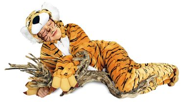Tiger-Overall / Tiger-Kostüm-Plüsch – Bild 3