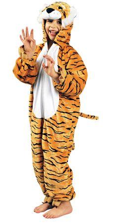 Tiger-Overall / Tiger-Kostüm-Plüsch – Bild 1