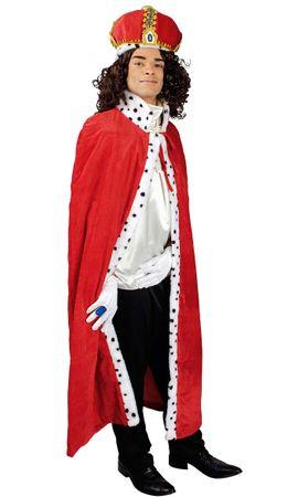 Königumhang-Erwachsene / König-Kostüm