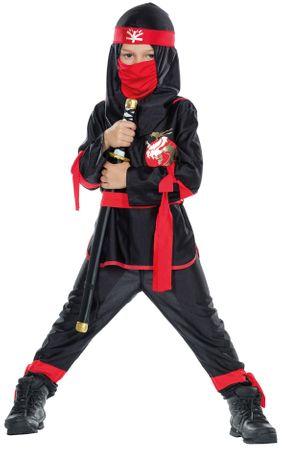 Ninja-Kostüm / Schattenkrieger-Kostüm – Bild 1