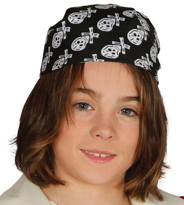 Piraten-Haube / Piraten-Kappe