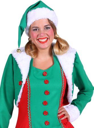 Weihnachts-Elfen-Kostüm / Weihnachtselfin – Bild 4