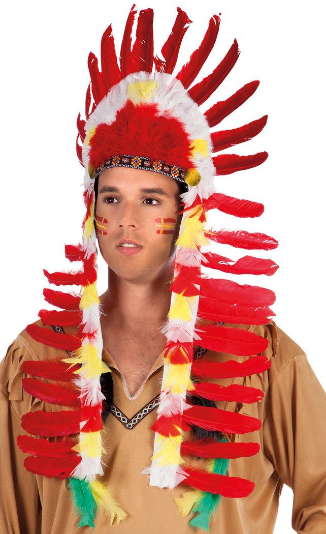 Indianer Kopfschmuck Fur Karneval Oder Fasching Online Kaufen