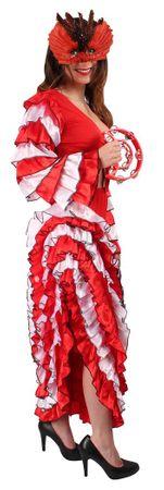 Spanierinkostüm in rot-weiß-schwarz für den Karneval – Bild 2