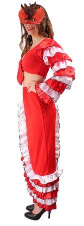 Spanierinkostüm in rot-weiß-schwarz für den Karneval – Bild 3