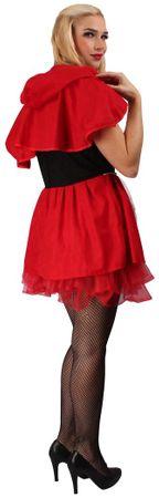 Rotkäppchenkostüm für Damen für den Karneval – Bild 4