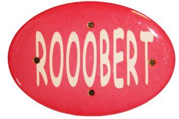Rooobert-Blinky rot für Karneval oder Fasching