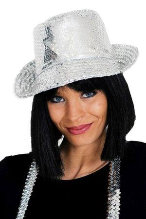 Pailletten-Hut in verschiedenen Farben für den Karneval