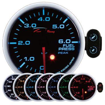 D-Racing 60mm Benzindruck-Anzeige (PK-Serie)