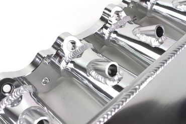high-flow 80mm Ansaugbrücken Set für Toyota Supra MK4 / Aristo / Lexus SC300 JZZ30 2JZ-GTE (12x Düsen) – Bild 4