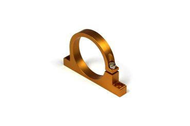 Universal Aluminium Single Kraftstoffpumpen-Halter Gold 60mm
