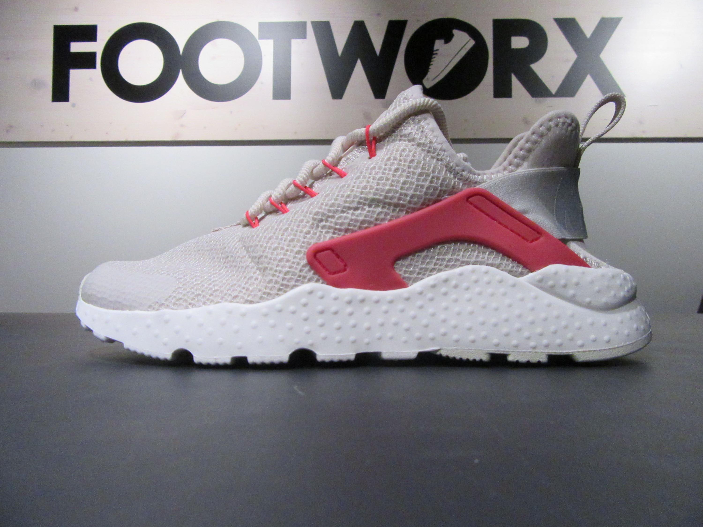 low priced a2e99 6425a ... inexpensive nike air huarache run ultra running sneakers für damen in  weiss rot c1114 e724b