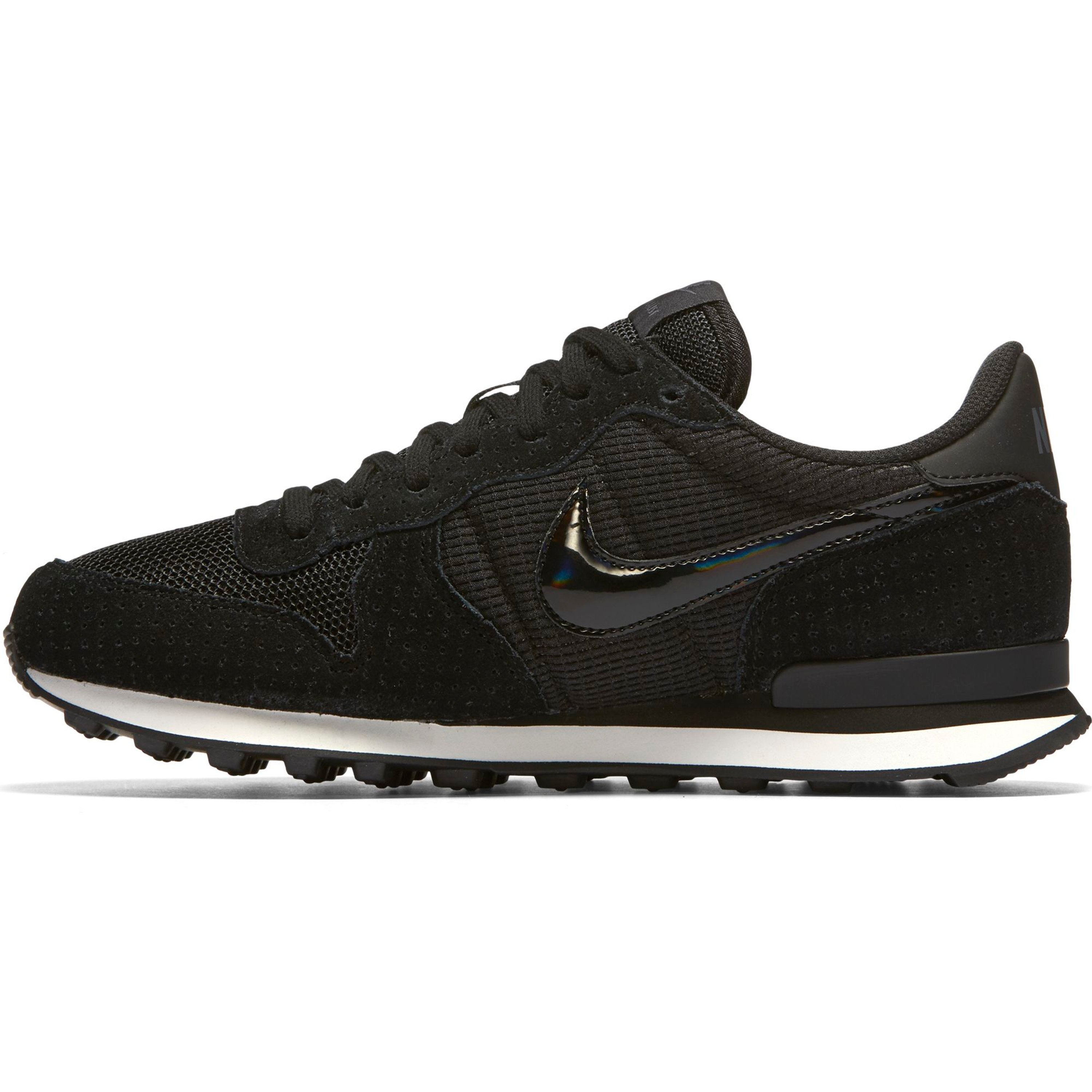Nike Air Internationalist Retro-Running Sneakers für Damen | schwarz ...