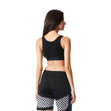 Adidas Trefoil Top für Damen | schwarz