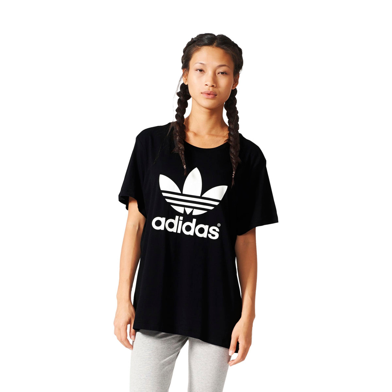 adidas shirt damen schwarz