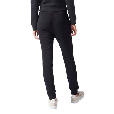 Adidas Slim Cuffed Trainingshose für Damen | schwarz