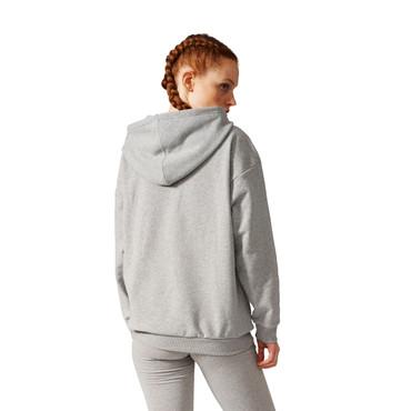 Adidas Trefoil Hoodie für Damen | grau