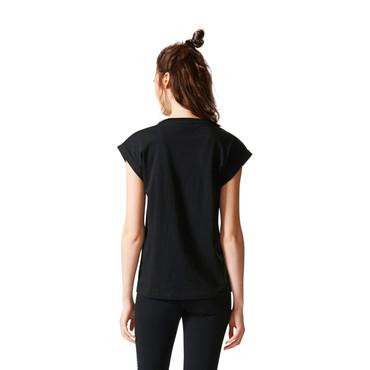 Adidas Jardim Agharta T-Shirt für Damen | schwarz