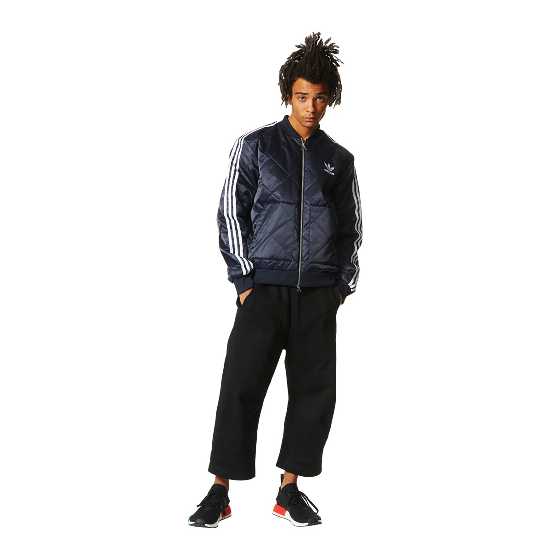 Adidas SST Quilted Jacke legend ink für Herren | dunkelblau
