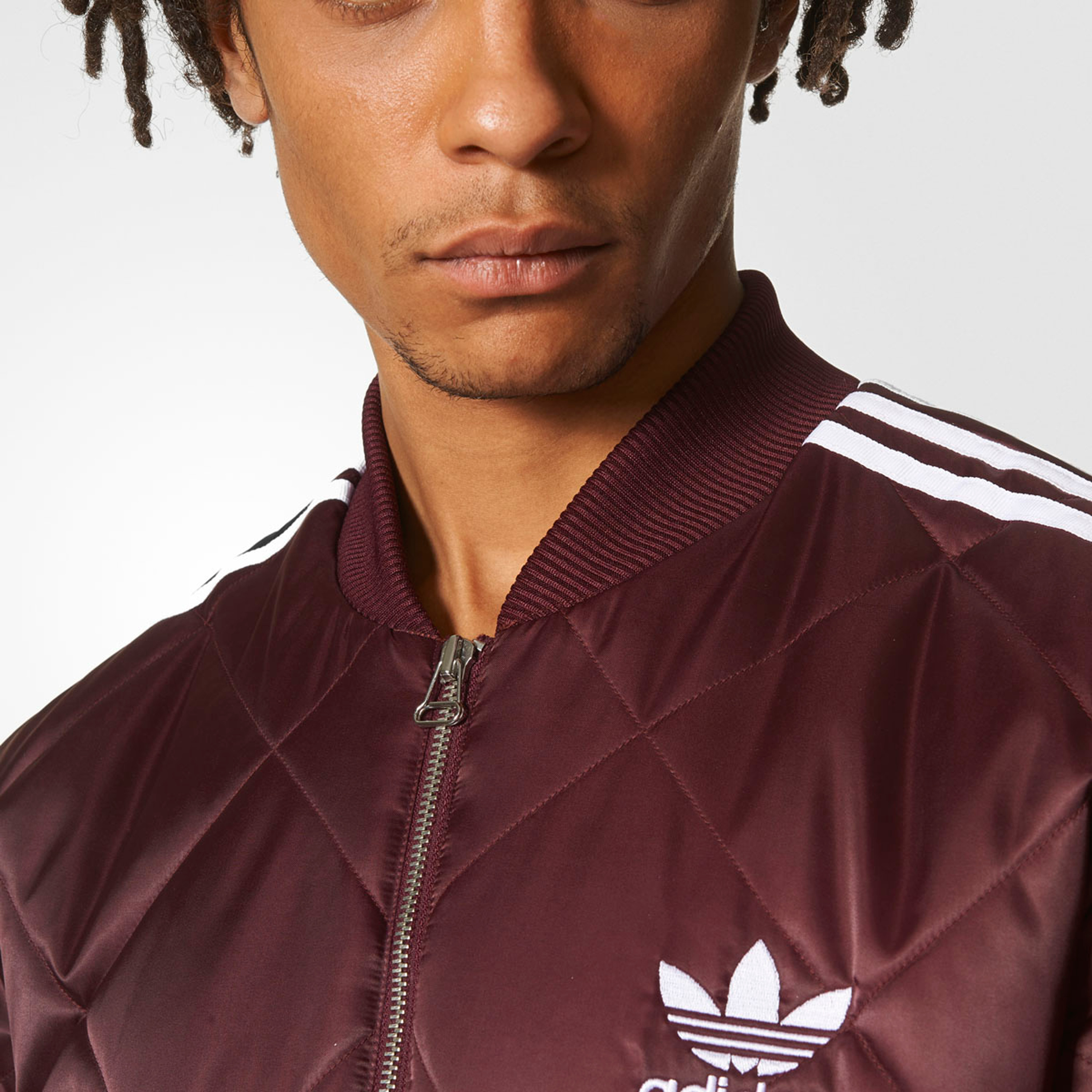 Adidas SST QUILTED Maroon