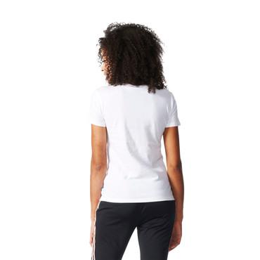 Adidas Trefoil T-Shirt für Damen | weiss
