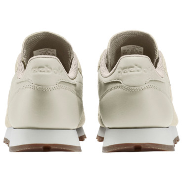 Reebok Classic Leather EB Freizeit Sneakers für Damen in beige/grau