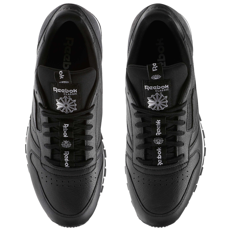 hot sale online c45b2 d0269 Reebok Classic CL Leather IT Running Sneakers Leder für Herren in schwarz
