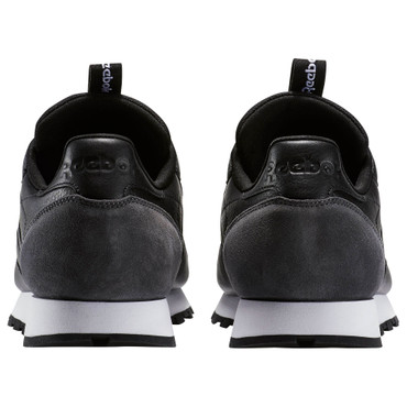 Reebok Classic CL Leather IT Running Sneakers Leder für Herren in schwarz