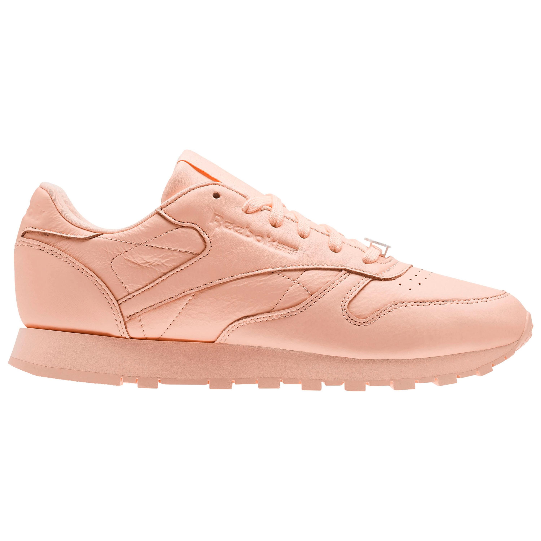 new concept 823fe e1c71 Reebok CL Classic Leather L Running Sneakers für Damen in Grit-Peach Optik