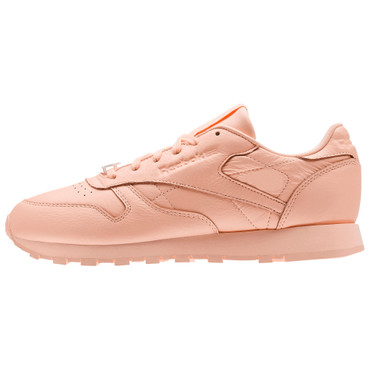 Reebok CL Classic Leather L Running Sneakers für Damen in Grit-Peach Optik