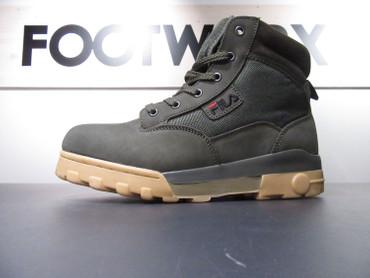 Fila Heritage Grunge Hi-Sneakers für Herren | dunkelgrau Winterschuh Stiefel