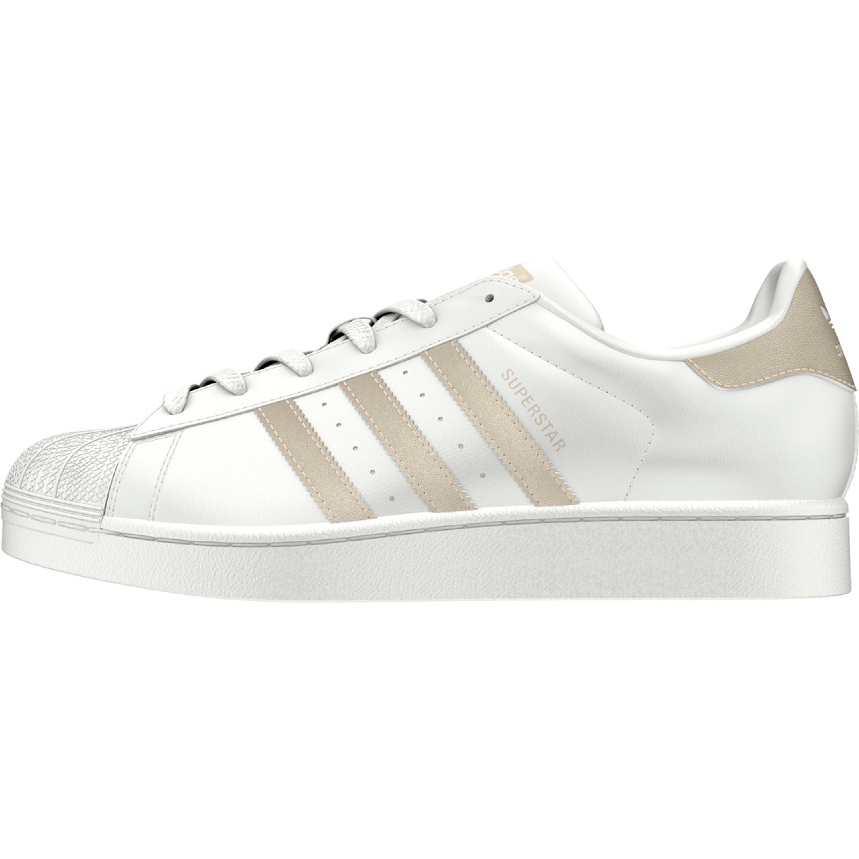 lowest price new styles huge selection of Adidas Superstar Retro-Vintage Sneakers für Damen | weiss-gold