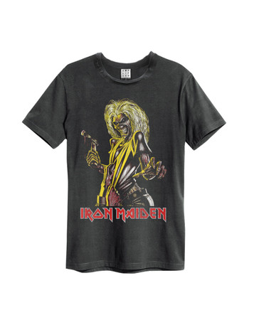 Amplified T-Shirt Iron Maiden Killers für Herren (charcoal)