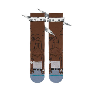 Stance Anthem | Tupac - Socken Unisex (brown)