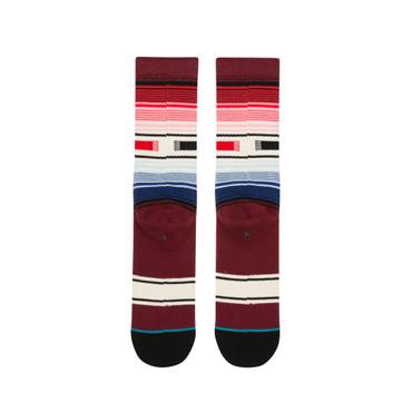 Stance Classic Crew Hatchets | Socken Burgundy / Rot - Unisex