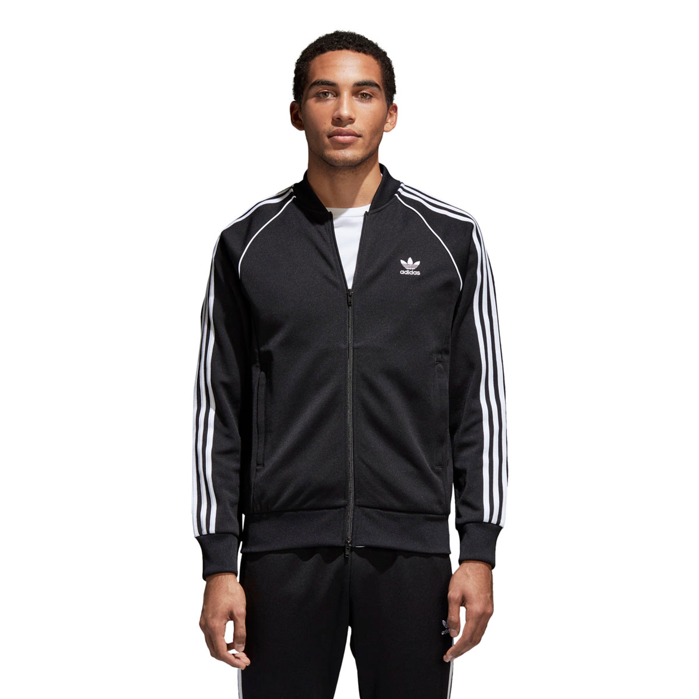 adidas Originals SST Jacke für Herren Schwarz